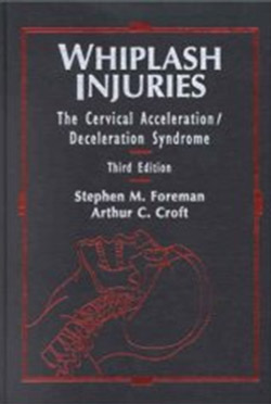 Cover of Foreman & Croft book on Whiplash Injuries